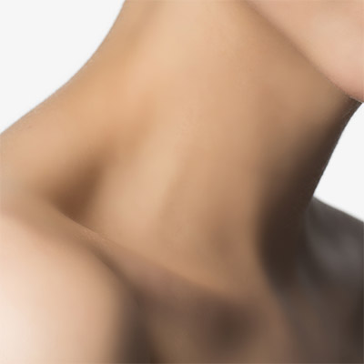 Décolletage and neck rejuvenation